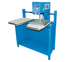 DOUBLE BASED MOVING HEAD TRANSFER PRESS (GARMENT INSERTING TYPE)