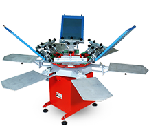MANUAL OCTOPUS SCREEN PRINTING MACHINE